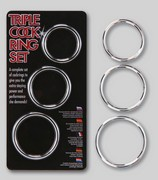 Triple Set Cockrings